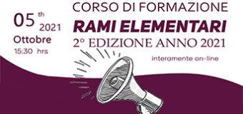 Corso di formazione Rami Elementari 2° edizione
